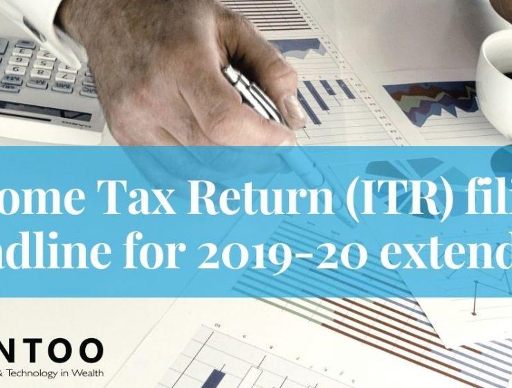 ITR filing deadline for 2019-20 extended