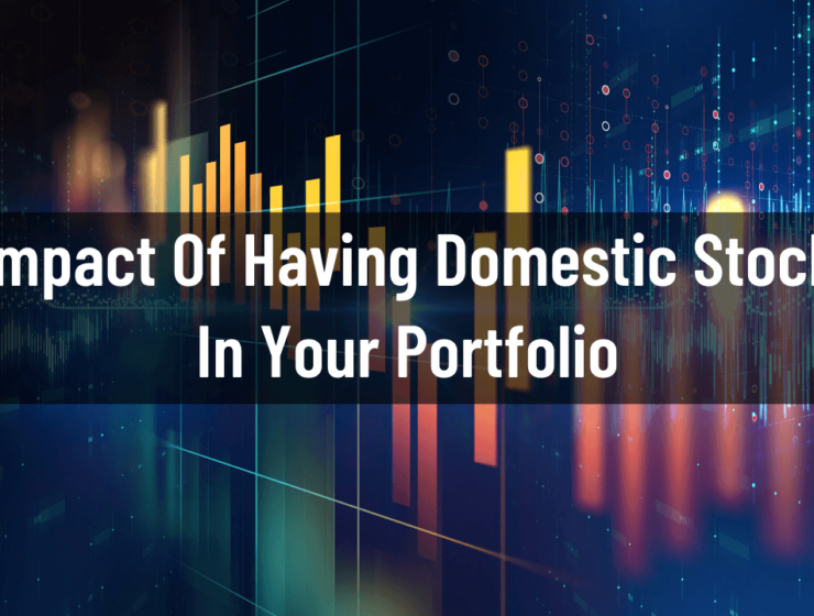 Impact of having Domestic stock in your Portfolio