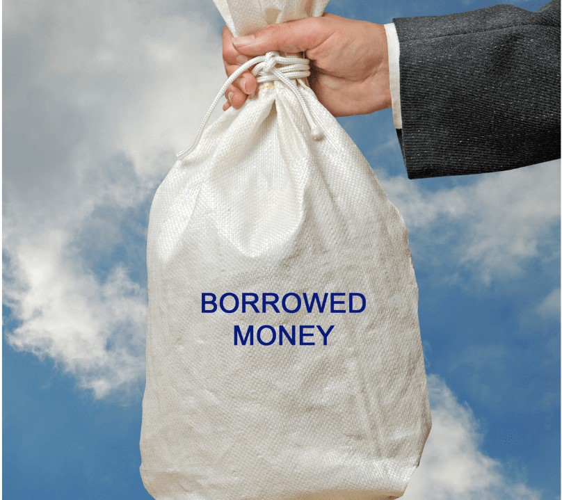 Don't borrow to invest