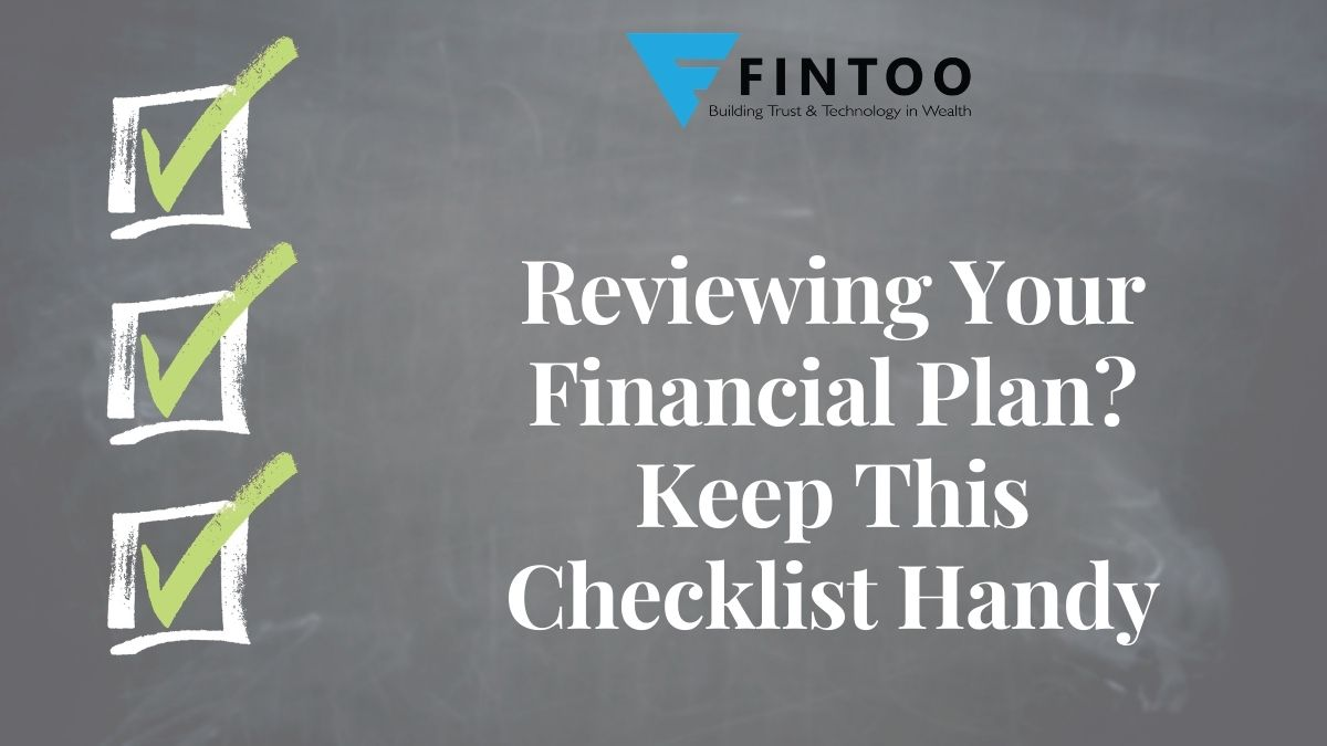 Reviewing Your Financial Plan? Keep This Checklist Handy