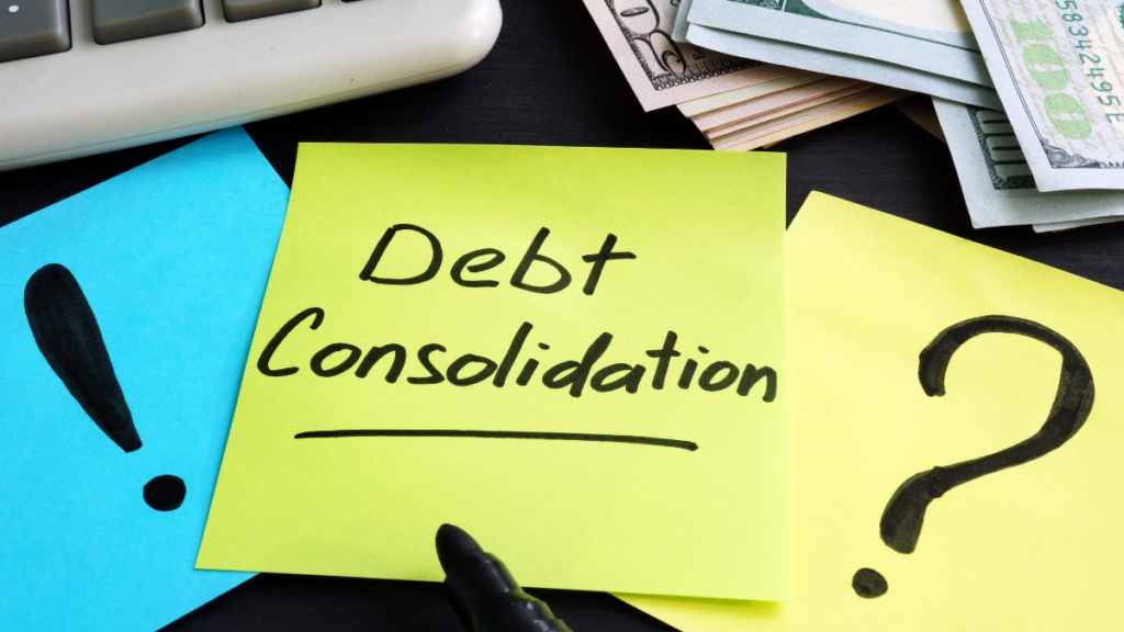 What does Debt consolidation mean?