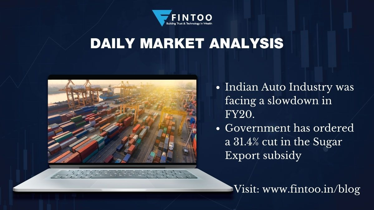 Daily Market Analysis – 21st May 2021 (Indian Auto Industry)