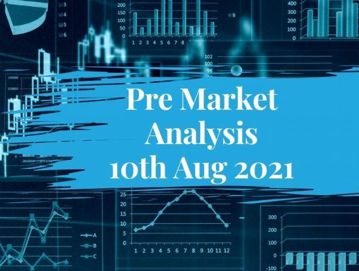 Pre Market Analysis – 10th Aug 2021